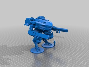 15mm Scale Jumping Spider Mech