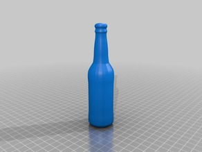 Simple Beer Bottle