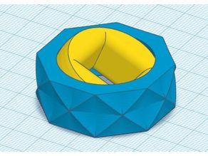 3d fidget gyro V2 (print in place) 2x0.325