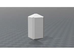 Tetragonal Vesuvian crystal