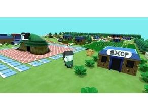 The Legend of Zelda: Link's Awakening - Mabe Village