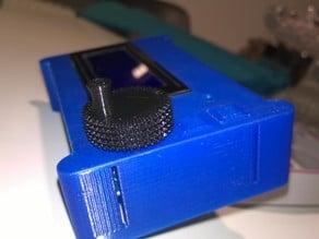 Display crank knob