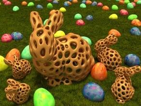 Stanford Bunny - Voronoi Style