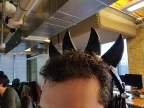 Horns or Cat Ear Headphone Attachements