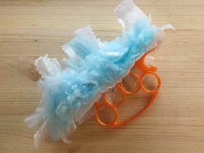 Knuckle Duster Swiffer Duster Handle Brass Knuckles