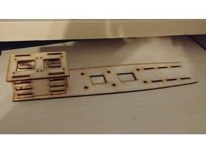 Strix Stratosurfer wood tray