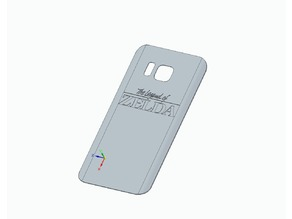 Samsung Galaxy S7 back cover (zelda themed)