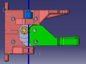 Dual Bowden Extruder e3d V6 für Hadron