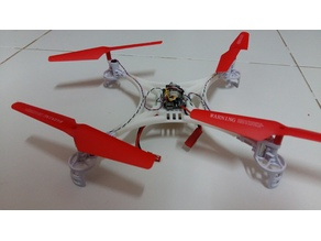 Very light weight drone syma X5 V2