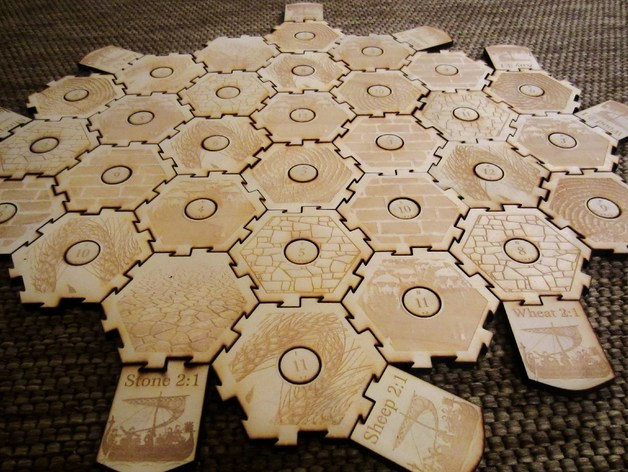 Settlers Of Catan 6 Player Interlocking Add Your Own
