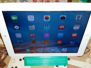 Yet another cell phone + iPad stand
