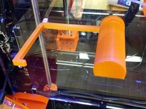 Universal Spool Holder for Airwolf HD 3D Printer