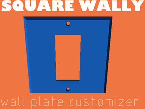 Square Wall Plate Cover Customizer - SQUARE WALLY