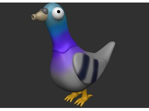 Kruuu!! - Dumb Pigeon Concept