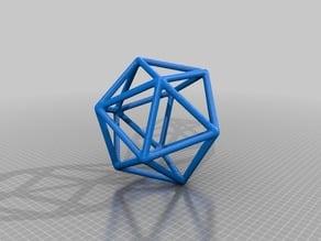 Icosahedron Wire