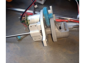 gearbox with differential