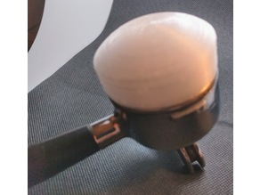 Palm tamper for Pavoni & other 48mm portafilters
