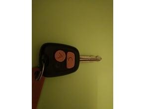 Key button citroen xsara picasso / Botones para llave Citroen Xsara Picasso