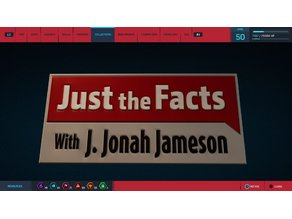 Just the Facts Plaque