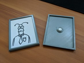 6x8cm Magnetic Picture Frame