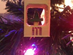 Tiny Print for Makerbot Ornament