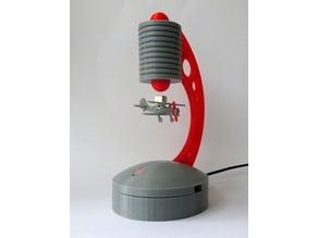 Levitating BiPlane (smaller) for Levitator