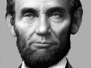 Lincoln Lithophane