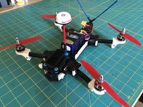 Panda280 3D Printed FPV Racing Miniquad