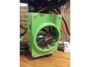 MKS Gen_L Simple cover for Tarantula & 75mm GPU fan