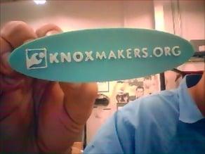 Knox Makers thin logo