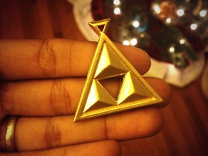 Fancy Triforce Pendant
