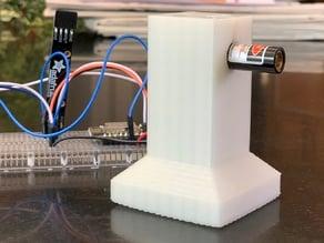 Desktop stand for 5mW laser diode
