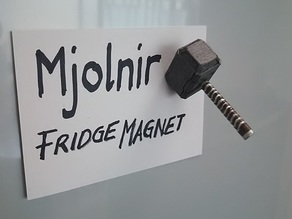 Fridge Magnet Mjolnir