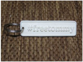 keychain #freetommy