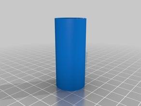 18500 Li-ion Battery adapter to replace 3 x AAA cartridge