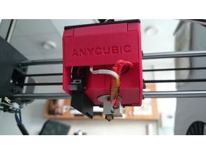 Anycubic i3 Mega Silent Hotend Housing & Fan Duct