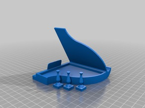 Piano Phone Dock (modified for thick phone case)