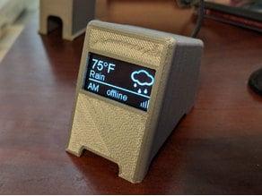 3D Printer Monitor for OctoPrint Wemos 1.3 Display