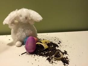 Easter egg seed bomb