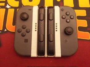 Nintendo Switch Joycon Grip With Wrist Strap Holders