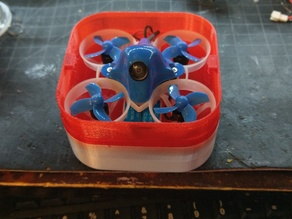 "65mm ""whoop"" style quad case fits most 65mm quads UR65, M6, B65x, B65 Pro"