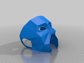 Low poly mask party mix