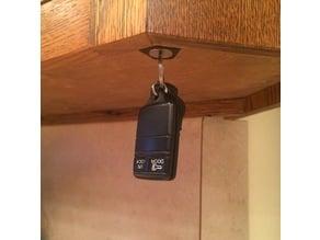 Magnetic Key Holder, under Kitchen cabinet
