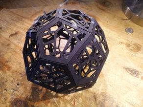 Voronoi Pentagonal Icositetrahedron