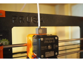 Prusa i3 MK2 Filament Filter with 4mm PTFE tube