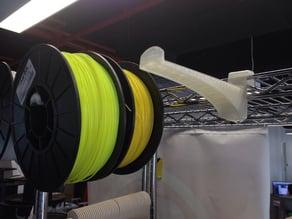 Wire Rack Spool Bracket