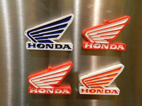 Honda wing magnet with 8x3mm magnets
