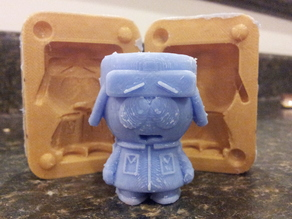 Mold for Kyle from Southpark