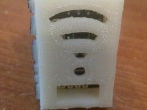 Arduino NRF24L01 2.4GHz RF Antenna/Wireless Transceiver Hinged Case