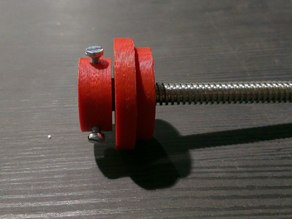 support Tr8 screw on Z axis